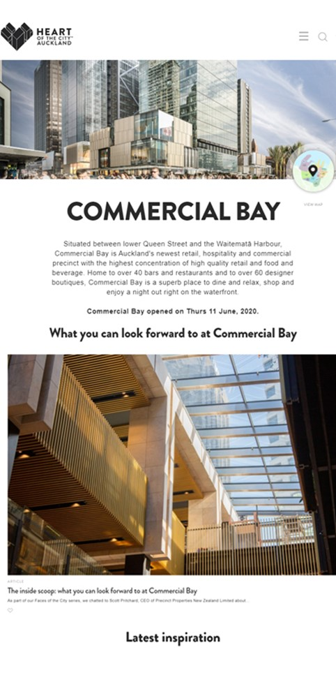 Commercial Bay - Media Links
